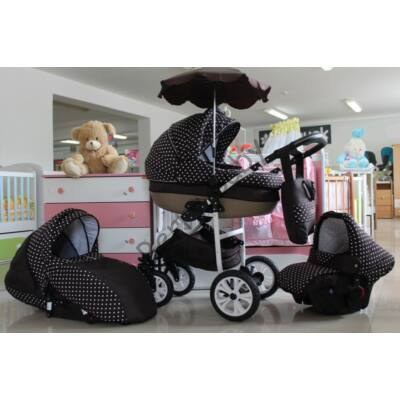 Berry Baby Lux 3in1 Pram Set (with adapter and carrier): Z-6