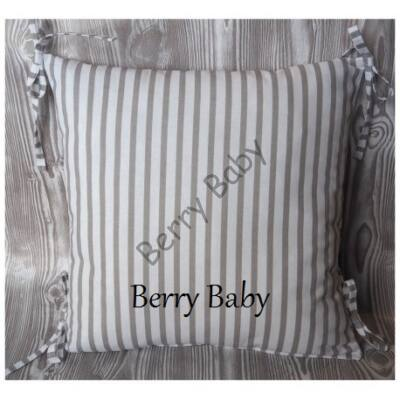 PUFFY Bumper: Gray Stripes