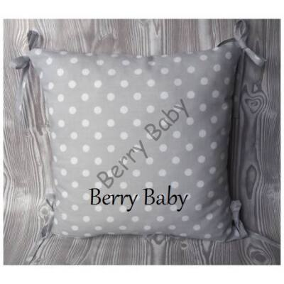 PUFFY Bumper: Gray Dots