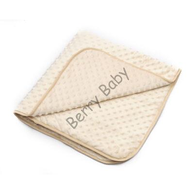 MInky Baby Blankets 90x168 cm: Hazelnut