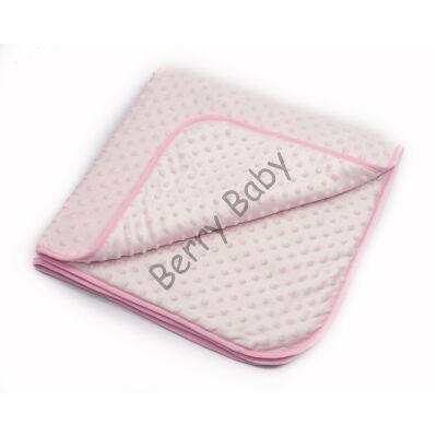 MInky Baby Blankets 84x84 cm: Rose