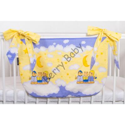 SMILE Diaper Storage: Blue-Yellow Bear