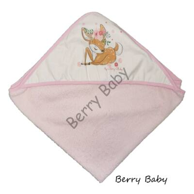 Terry Hooded Towel 80x100 cm: Bambi