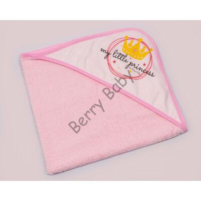 Terry Hooded Towel 75 x 75 cm: Princess (Rose)
