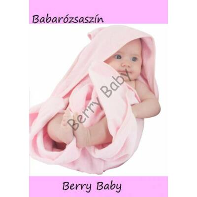 Terry Hooded Towel 80x100 cm: Rose