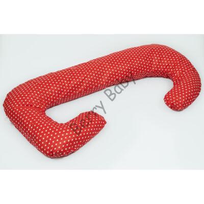 2in1 Nursing Pillow: Red- White Stars