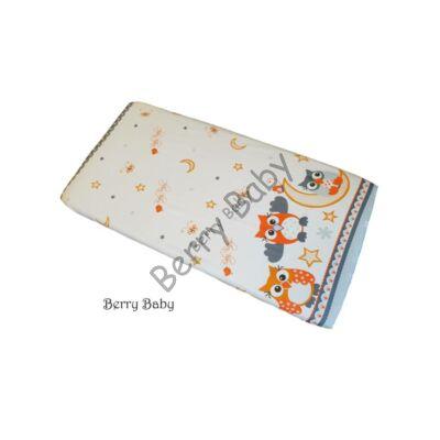 BASIC Cotton Sheet 60x120 cm: Gray Owl