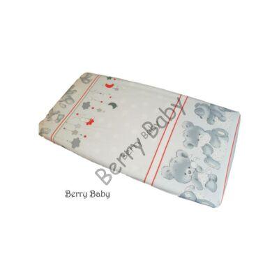BASIC Cotton Sheet 60x120 cm: Big Gray Bear