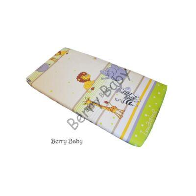BASIC Cotton Sheet 60x120 cm:Green Safari
