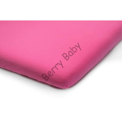Jersey Sheet for 60x120 cm Baby Bed: Raspberry