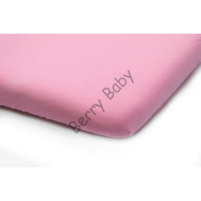 Jersey Sheet for 70x140 cm Baby Bed: Rose