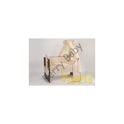 PREMIUM TOMI Embroidered Bedding Set: Brown Giraffe