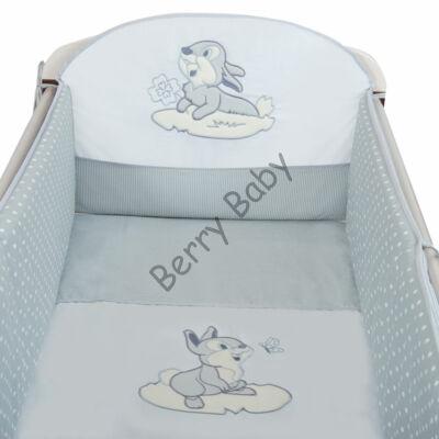 PREMIUM TOMI Embroidered Bedding Set: Gray Bunny