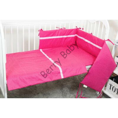 STARS and DOTS Bedding Set: Pink Dots