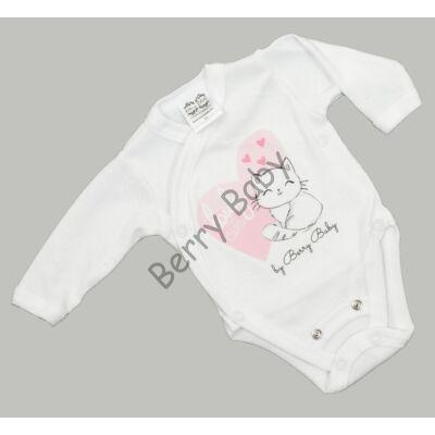 Premium bodysuit: 50-56 (newborn): Lovely Cat