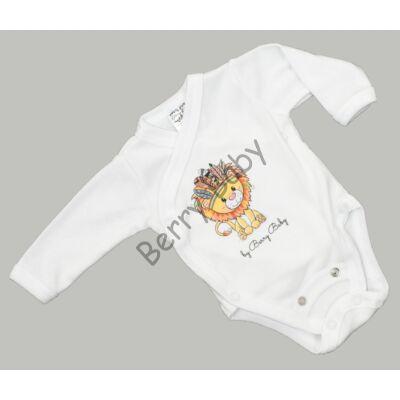 Premium bodysuit: 50-56 (newborn): Lion