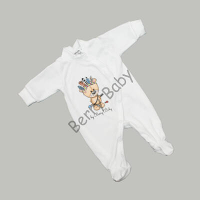 Sleepsuit for newborns: 50- Bear