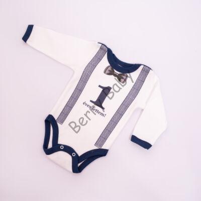 Birthday Bodysuit- Boys- 74-80- 1 years