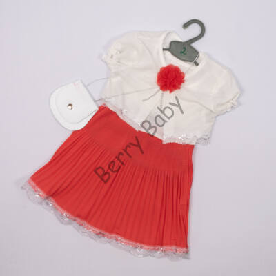 Elegant Dress for Little Girls 3 years- Corall