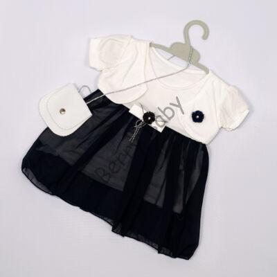 Elegant Dress for Little girls- Dark Blue- Size: 2 year