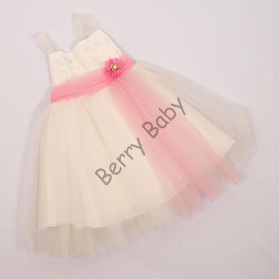 Elegant Dress for Little Girls- 3 years (with rose belt)