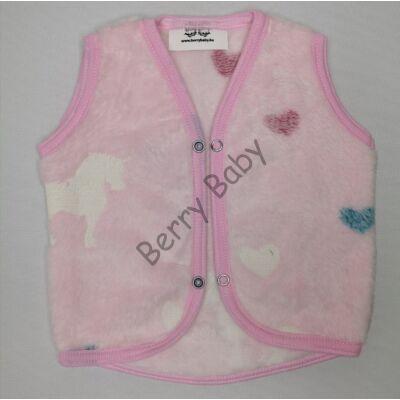 Berry Baby Wellsoft Vest-Lighting Unicorn 2-3 years