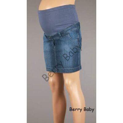 Maternity Mini Jeans Skirt: L