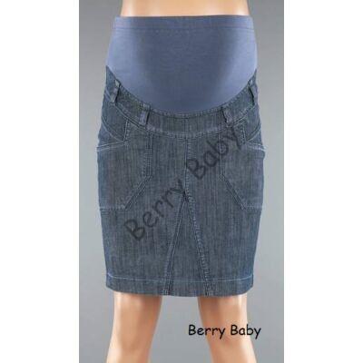 Maternity Midi Jeans Skirt- L