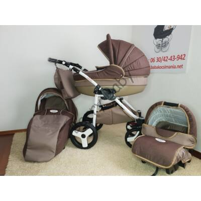 Berry Baby- LUX 3in1 pram set with car seat and adapter: Z-1