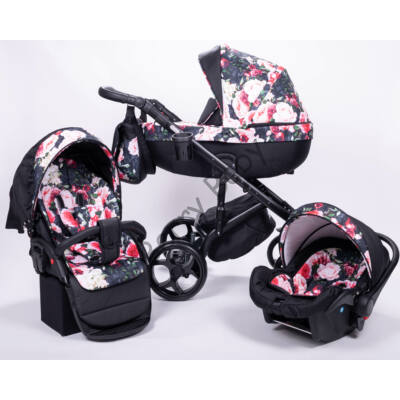 Berry Baby - Sojan KUGA Classic Multifunctional Pram Set: ROSE