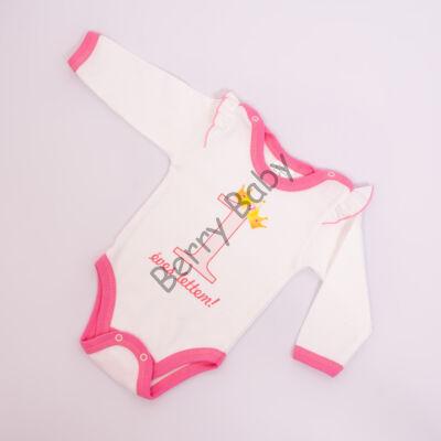 Birthday Bodysuit- Girls- 74-80- 1 years