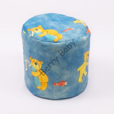 Bean Bag Pouffe: Blue Bears (Micro Plush)