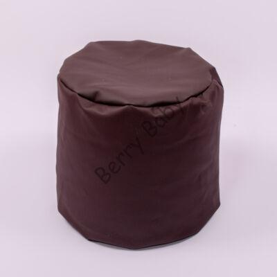 Bean Bag Pouffe: Chocolate Eco Leather