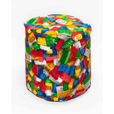 Bean Bag Pouffe: LEGO