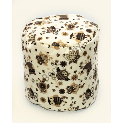 Bean Bag Pouffe: Wextra Brown Owl