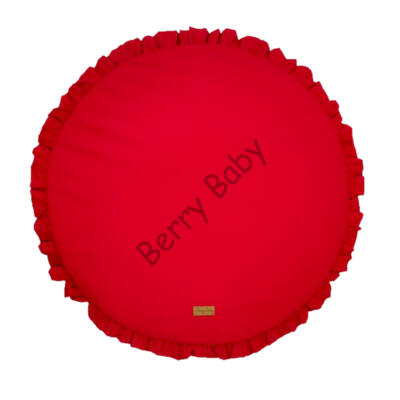 FRILLY Playing Mat: Red