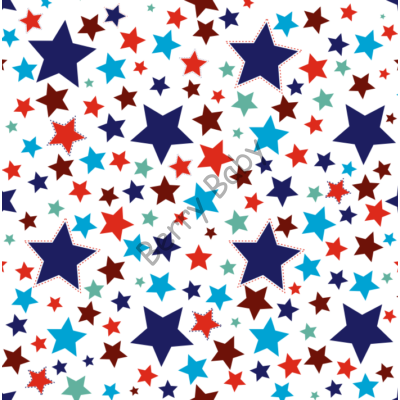 INFINITE Playing Mat: Stars (You got to choose the size!!!)