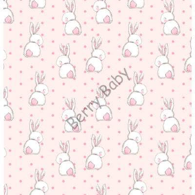 INFINITE Playing Mat: Sweet Bunny (You got to choose the size!!!)