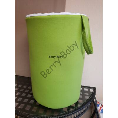 Laundry Basket- Toy Storage: Green