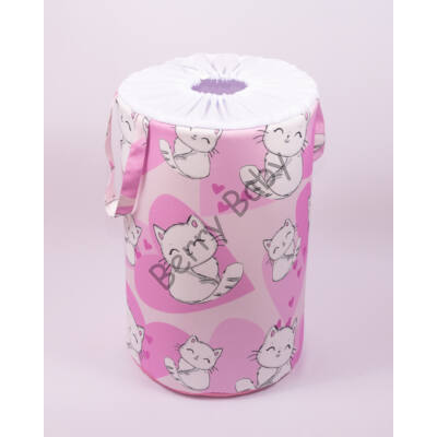 Laundry Basket- Toy Storage: Sweet Kitty