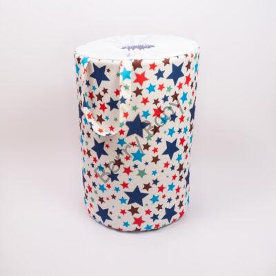 Laundry Basket- Toy Storage: Blue Stars