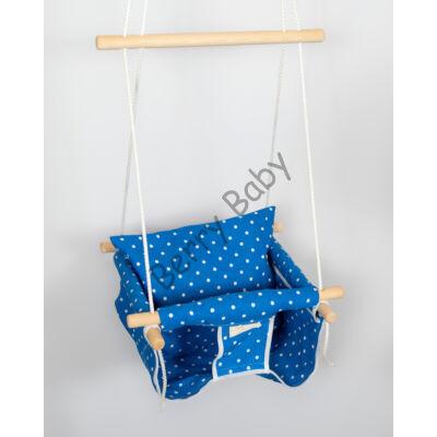 Jumper Swing: Royal Blue Dots