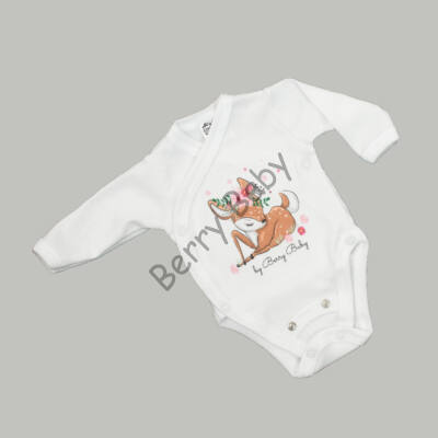 Premium bodysuit: 50-56 (newborn): BAMBI