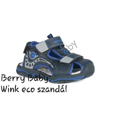 Wink eco- baby and child sandals- Dark Blue-Royal Blue  Size:21