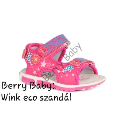 Wink eco- baby and child sandals-PINK : Size:25